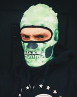Balaclava Mark Skull Green
