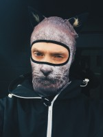Balaclava Beast - Grey Cat (man)
