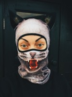 Balaclava Beast - Grey Cat (girl)