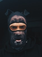 Balaclava Beast - Black Dog
