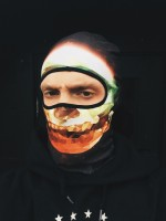 Balaclava Mark Polygon Skull