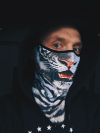 Bandana Original - Snow Tiger M